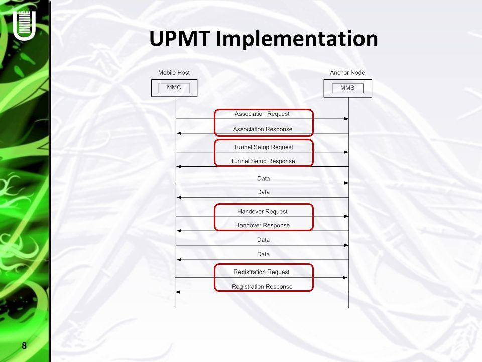 UPMT Implementation 8