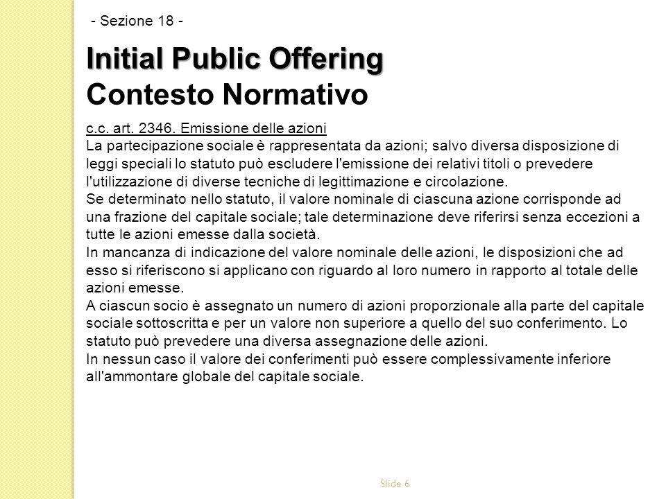 Slide 6 c.c. art. 2346.