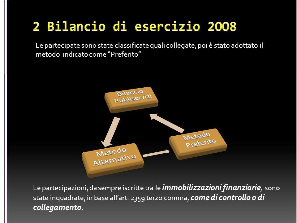 Le partecipazioni, da sempre iscritte tra le immobilizzazioni finanziarie, sono state inquadrate, in base all'art. 2359 terzo comma, come di controllo