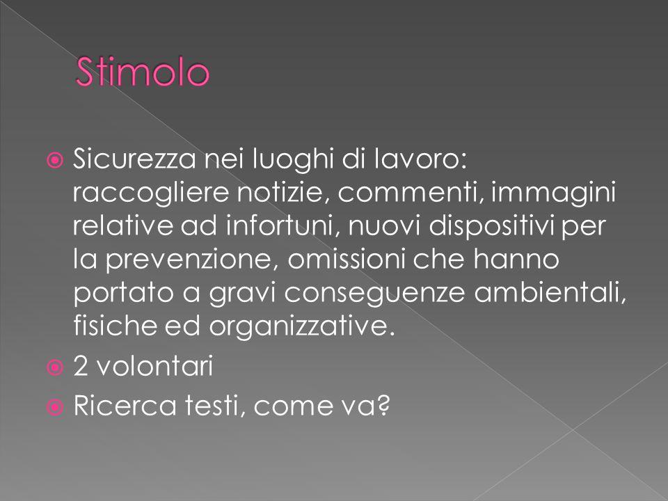 Tre piccoli compiti:  Significato della parola Lavoro  Significato della parola Organizzazione  ?Incipit Costituzione Italiana?