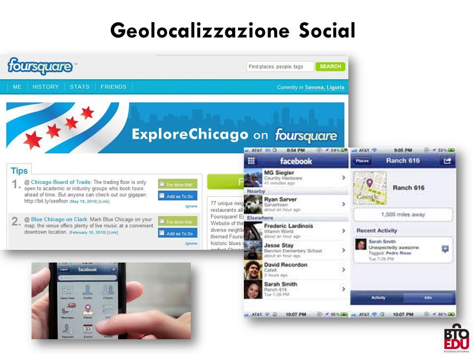 Geolocalizzazione Social
