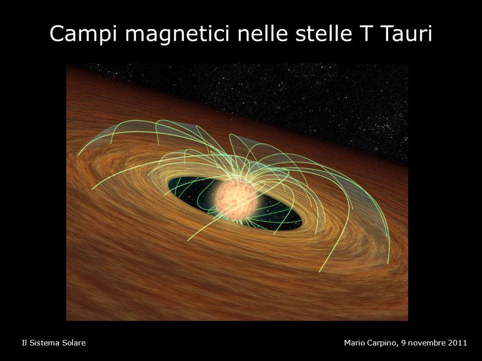Campi magnetici nelle stelle T Tauri Mario Carpino, 9 novembre 2011Il Sistema Solare