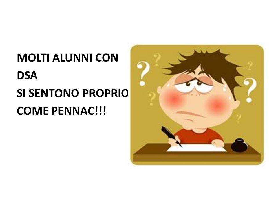 MOLTI ALUNNI CON DSA SI SENTONO PROPRIO COME PENNAC!!!