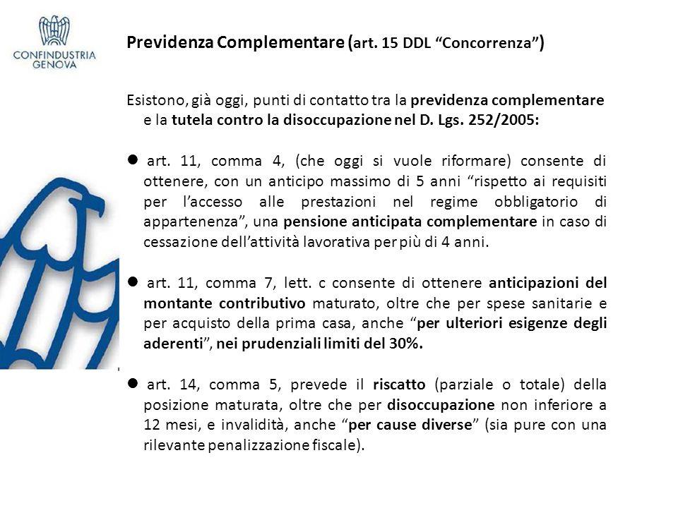 Previdenza Complementare ( art.