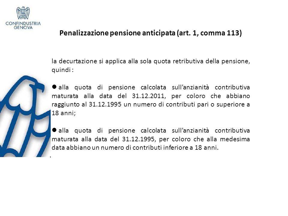 Pensioni con quota contributiva (art.