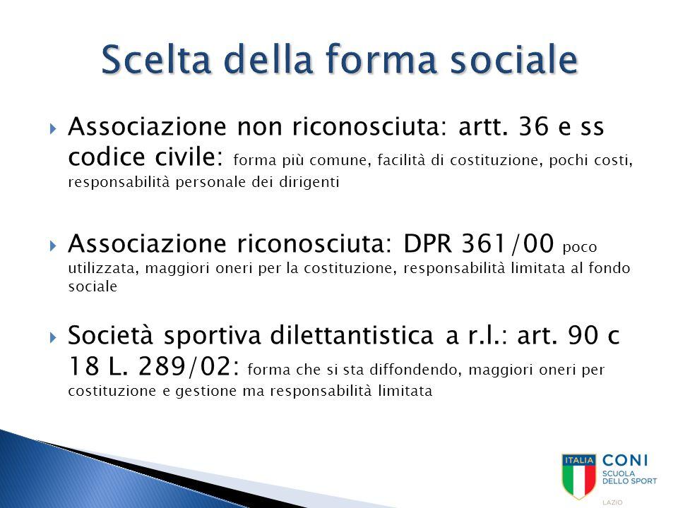  Aspetti sportivi  Professionismo: L.