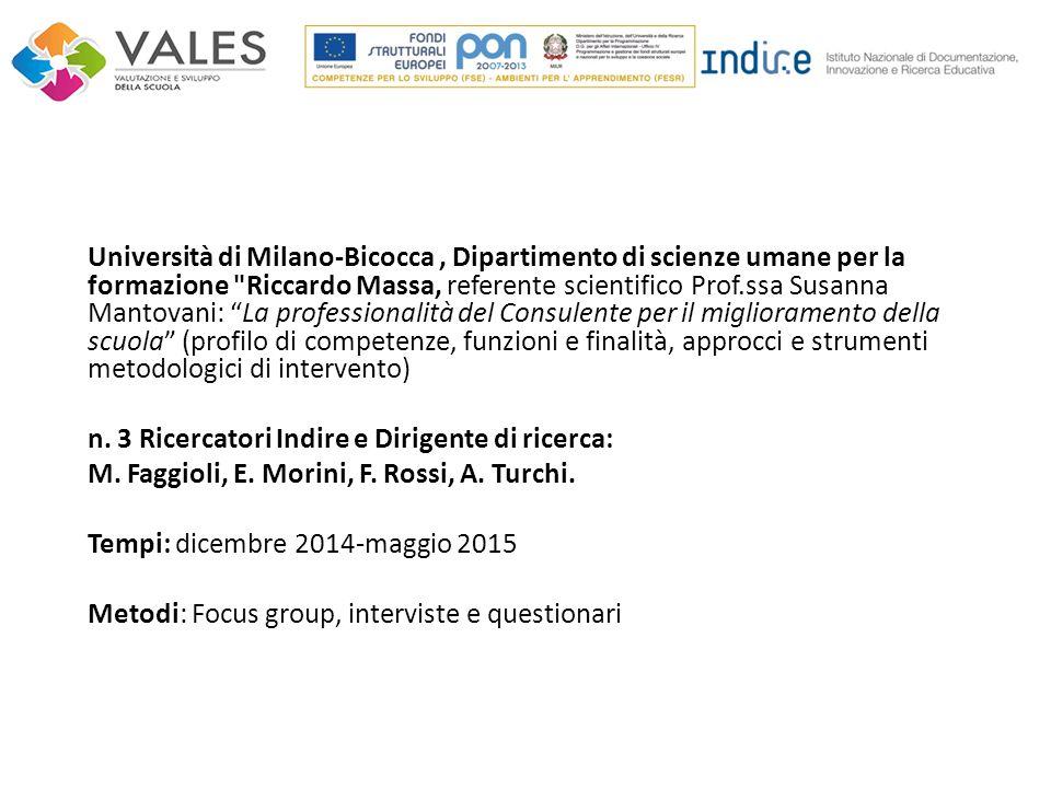 Università di Milano-Bicocca, Dipartimento di scienze umane per la formazione