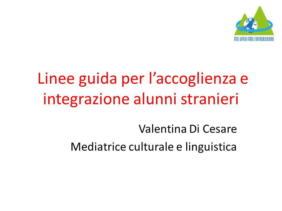 Già nel 2006 una circolare del Ministero dell'Istruzione aveva emanato le linee guida per l'accoglienza e integrazione degli alunni stranieri nelle scuole italiane, ma a distanza di quasi 10 anni si è reso necessario rinnovarne e rivederne alcuni punti, alla luce dell'aumento degli studenti stranieri nelle scuole italiane.