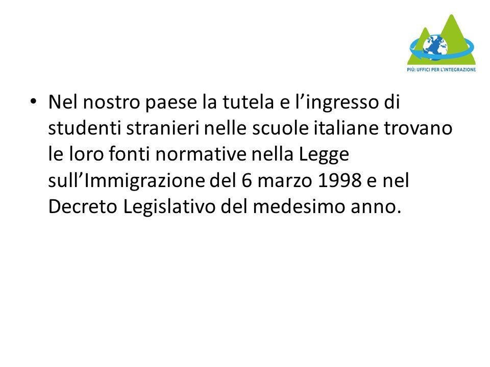 Gli alunni con cittadinanza non italiana sono diventati un dato strutturale, non si può più pensare a loro come a un'emergenza, ma occorre quindi ragionare su una didattica ordinaria, che riconosca le differenze fra un alunni appena arrivato in Italia e alunni che abbiano fatto qui tutte le scuole, che non pensi più solo all'alunno straniero come a colui che non sa l'italiano, che prenda atto del fatto che ormai gli alunni stranieri non sono più solo alle scuole dell'infanzia o al massimo alla scuola primaria, ma anche alle secondarie e all'università, con le questioni specifiche che questo comporta.