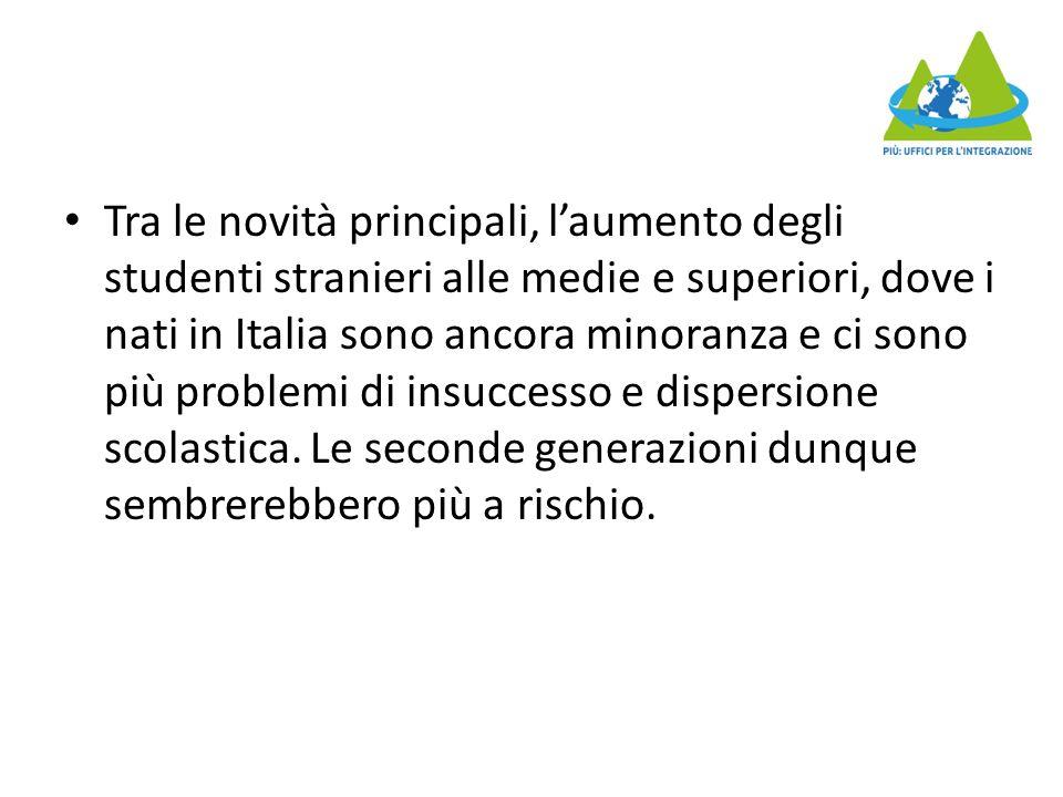 C'è anche una segregazione formativa , con i ragazzi stranieri che si concentrano in istituti tecnici e professionali, lasciando i licei agli italiani.