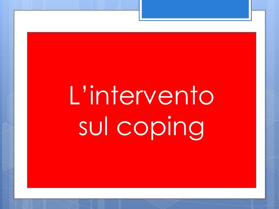 L'intervento sul coping