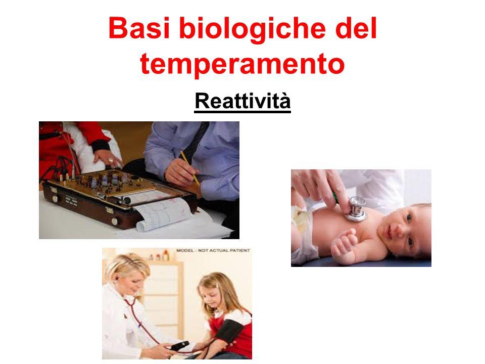 Basi biologiche del temperamento Reattività