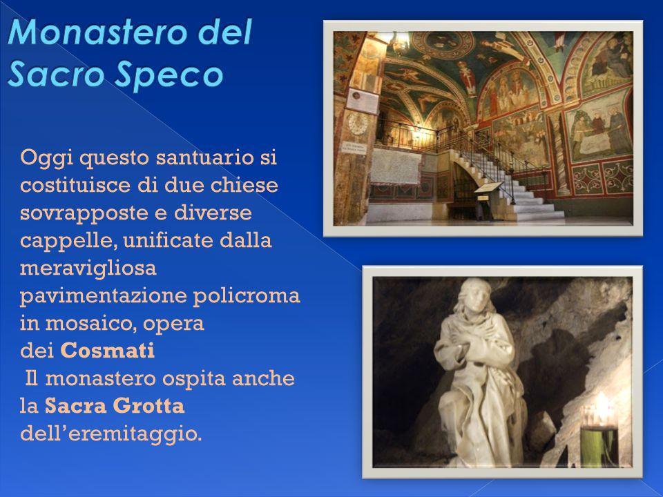 Oggi questo santuario si costituisce di due chiese sovrapposte e diverse cappelle, unificate dalla meravigliosa pavimentazione policroma in mosaico, o
