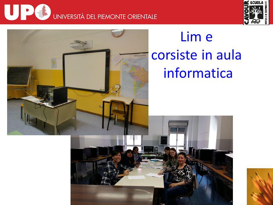 13 Lim e corsiste in aula informatica