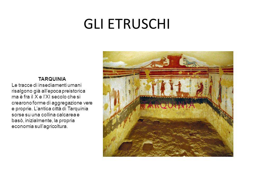 ALIMENTAZIONE IN ETRURIA Suppellettili etrusche.Particolare.
