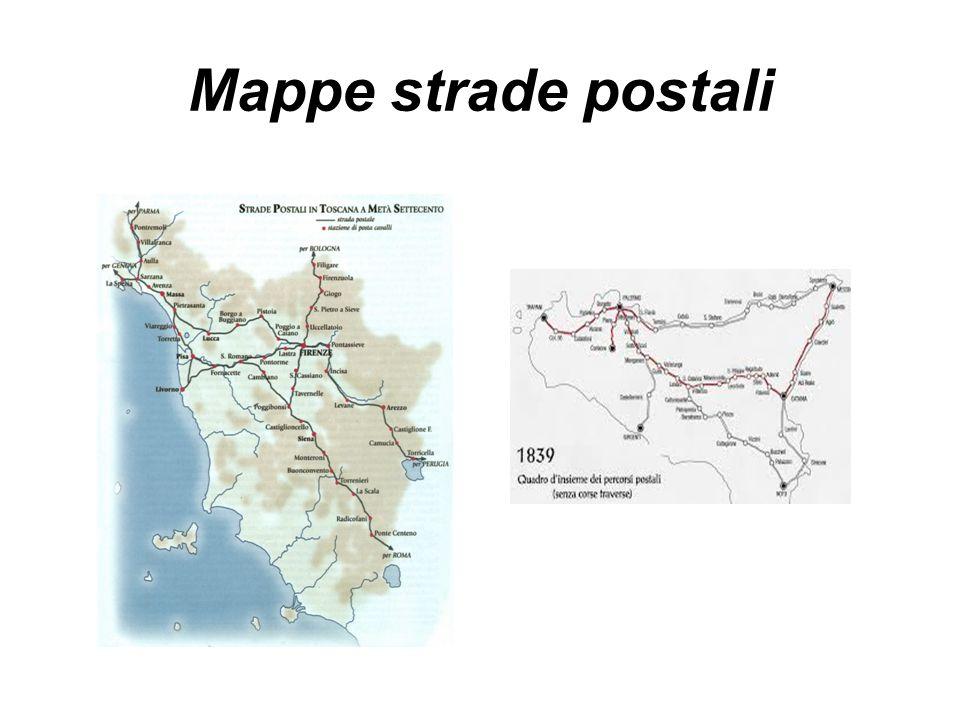 Mappe strade postali