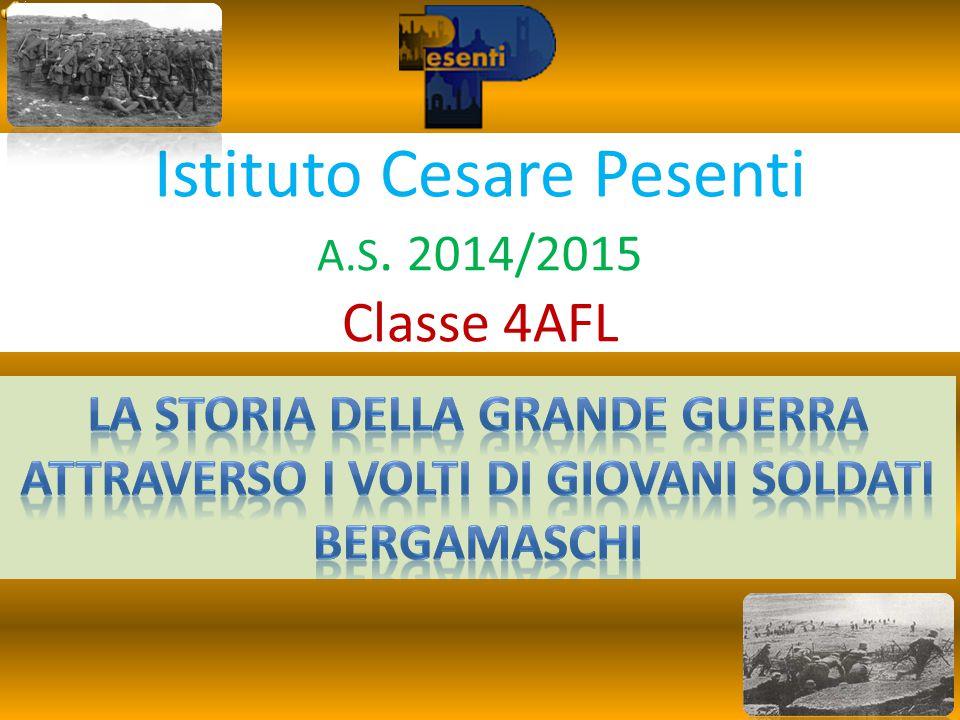 Istituto Cesare Pesenti A.S. 2014/2015 Classe 4AFL