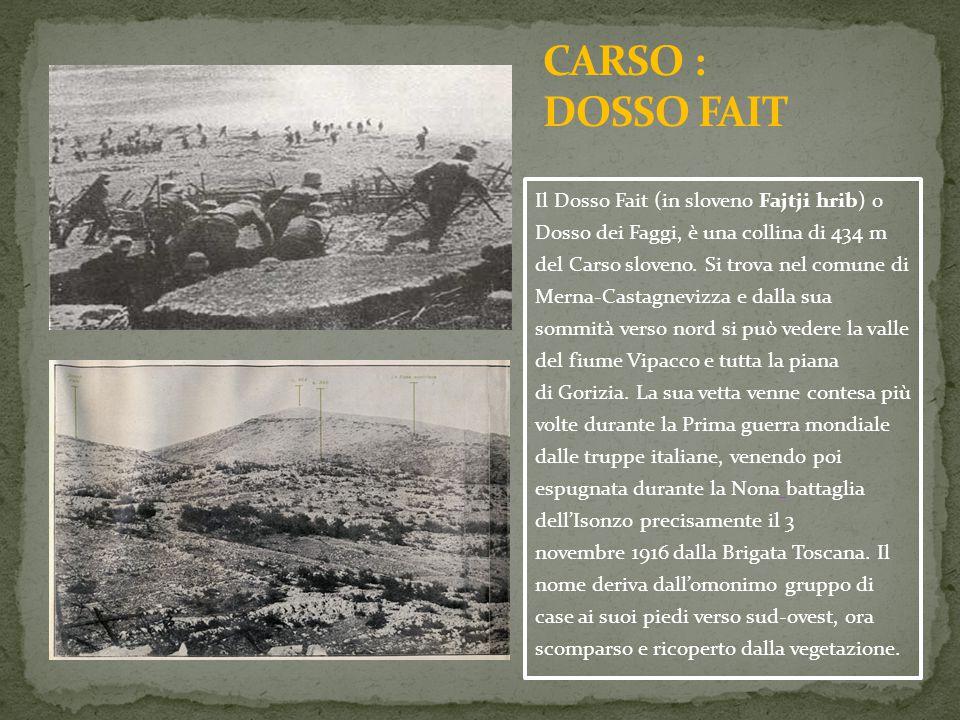Il Dosso Fait (in sloveno Fajtji hrib) o Dosso dei Faggi, è una collina di 434 m del Carso sloveno. Si trova nel comune di Merna-Castagnevizza e dalla