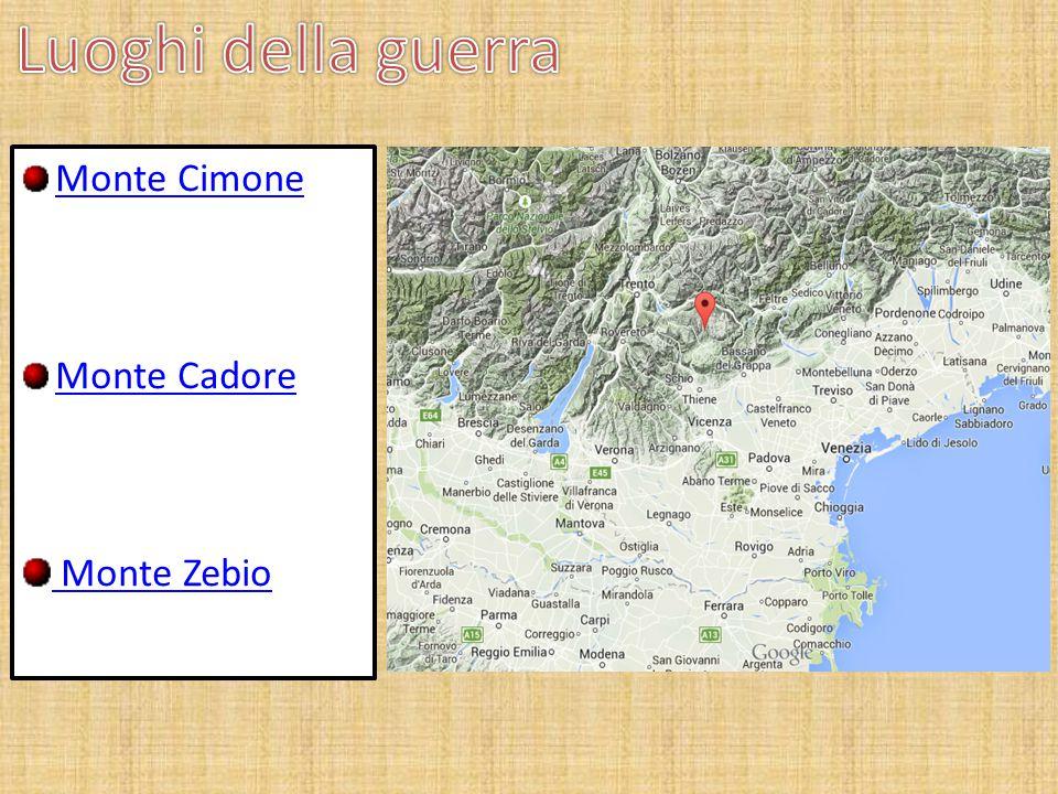 Monte Cimone Monte Cadore Monte Zebio