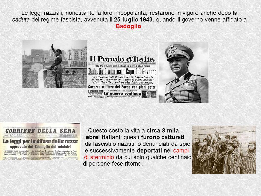 Diritti negati e libertà violate Ciò che diede fondamento alle leggi razziali fu l idea che esistesse una RAZZA ITALIANA e che essa appartenesse al gruppo delle cosiddette RAZZE ARIANE.