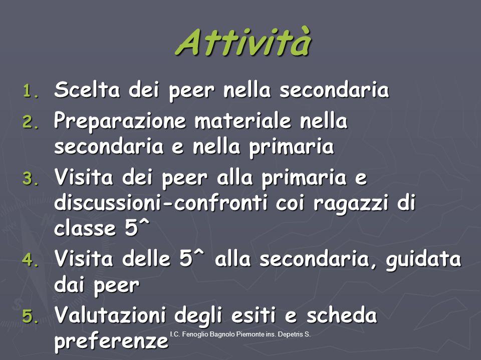 I.C. Fenoglio Bagnolo Piemonte ins. Depetris S. Attività 1.