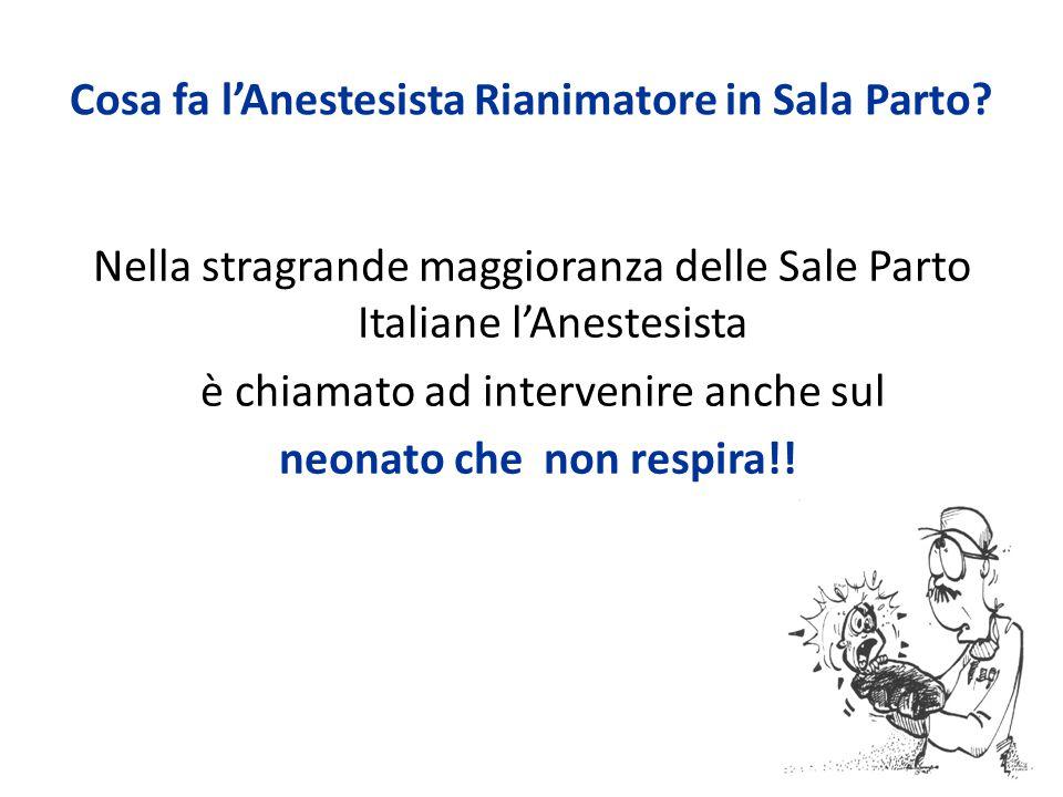 Punti nascita di I livello Sono in genere dotati di guardia anestesiologica ospedaliera (cioè non dedicata alla ostetricia).