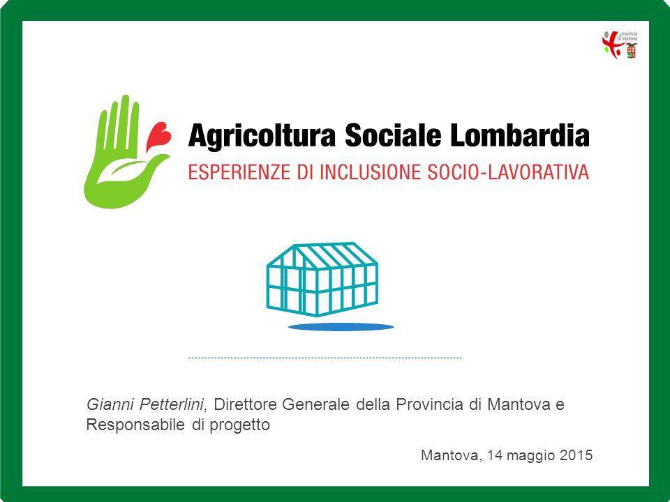 Gianni Petterlini, Direttore Generale della Provincia di Mantova e Responsabile di progetto Mantova, 14 maggio 2015