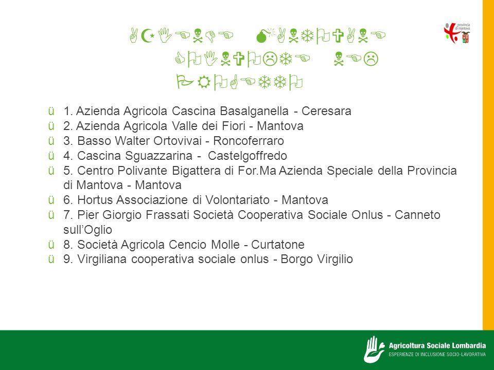    1.Azienda Agricola Cascina Basalganella - Ceresara 2.