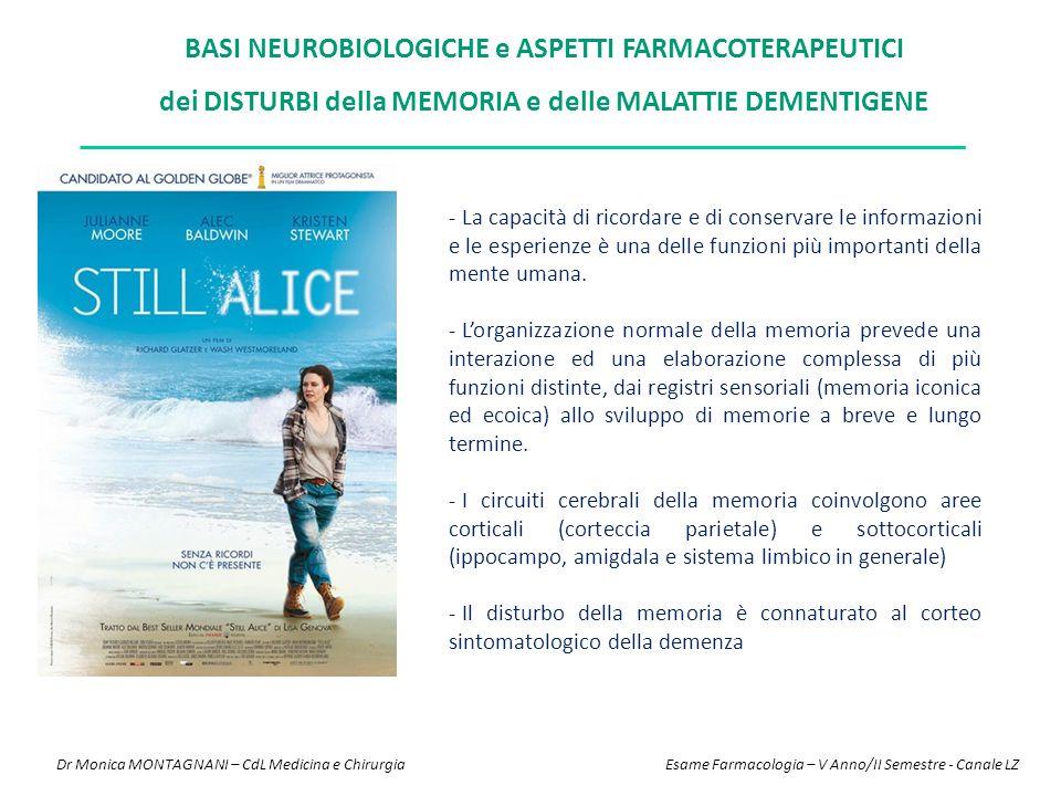 ALZHEIMER - PATOGENESI AD è un disordine neurodegenerativo progressivo che rappresenta la principale causa di demenza nell'anziano.