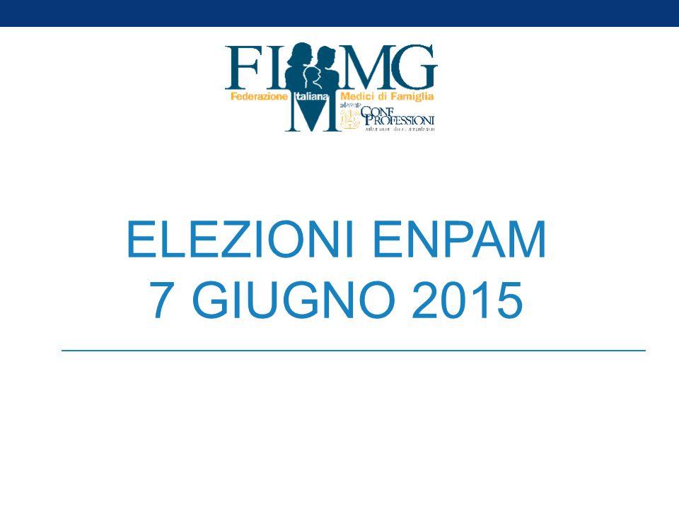ELEZIONI ENPAM 7 GIUGNO 2015