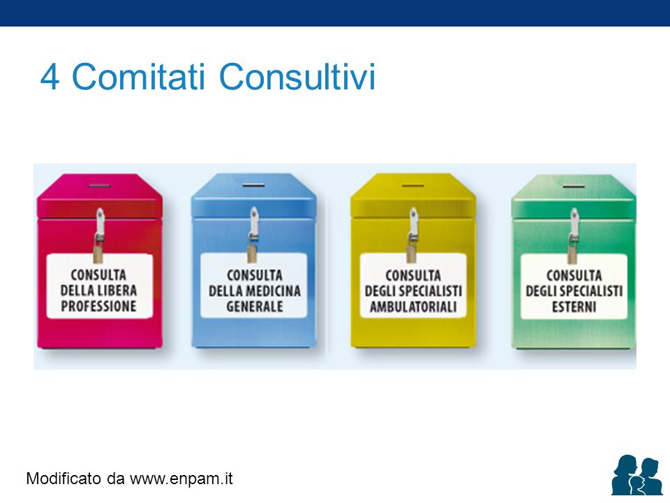 4 Comitati Consultivi Modificato da www.enpam.it