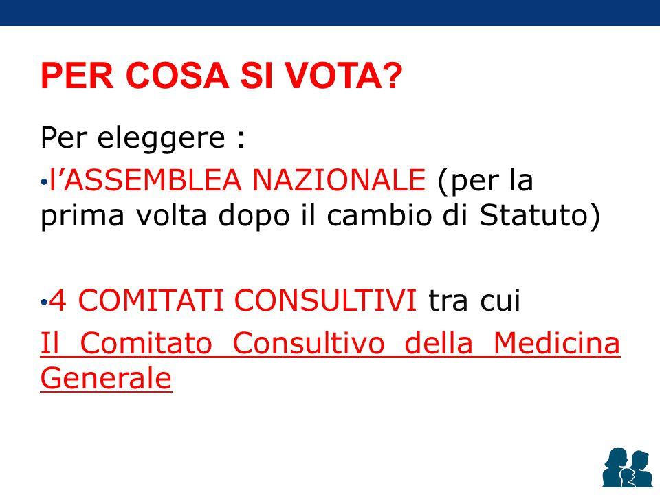 Chi può votare. Tutti gli iscritti attivi in regola con i versamenti contributivi.