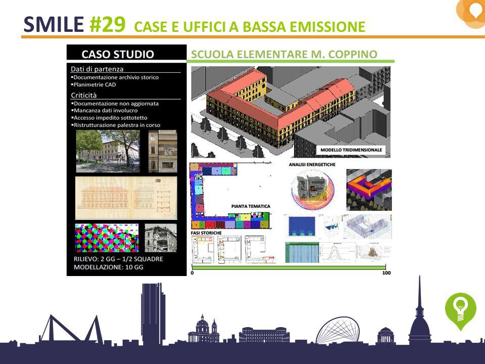 13 SMILE #29 CASE E UFFICI A BASSA EMISSIONE