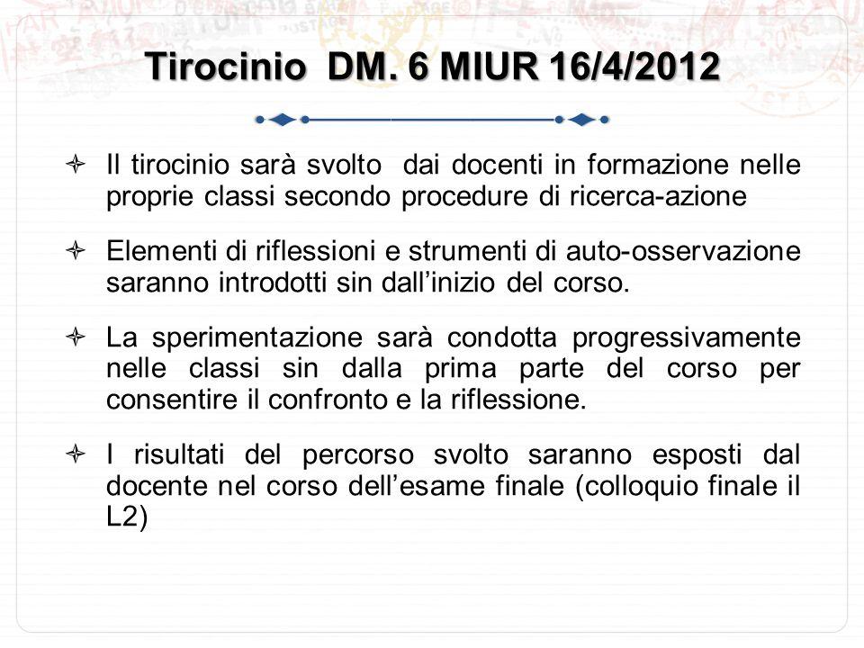Tirocinio DM.