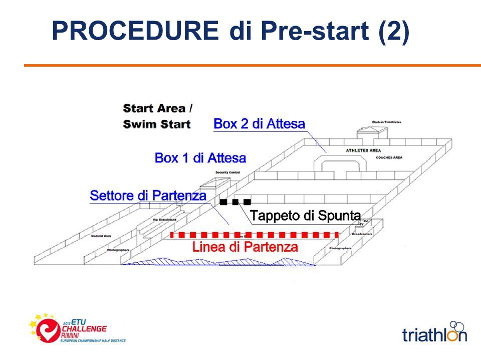 PROCEDURE di Pre-start (2)