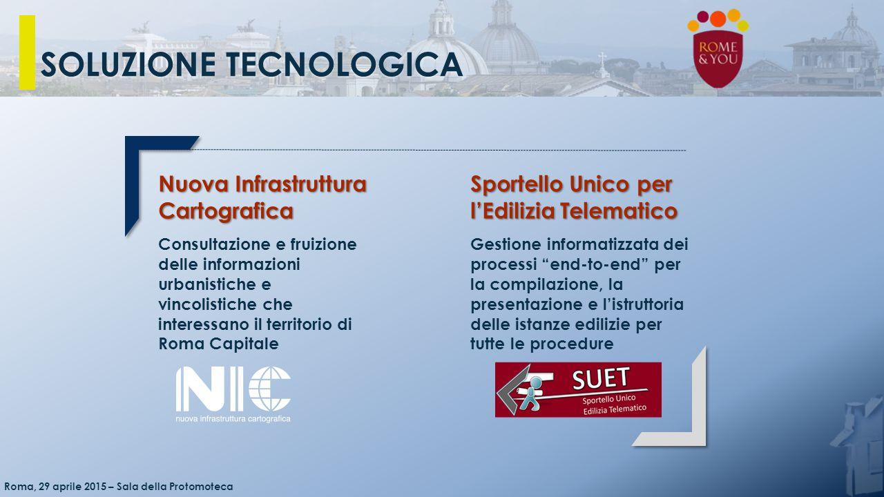 Nuova Infrastruttura Cartografica Consultazione e fruizione delle informazioni urbanistiche e vincolistiche che interessano il territorio di Roma Capi