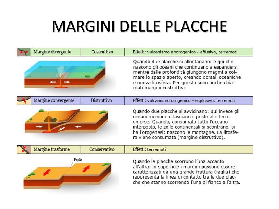 MARGINI DELLE PLACCHE