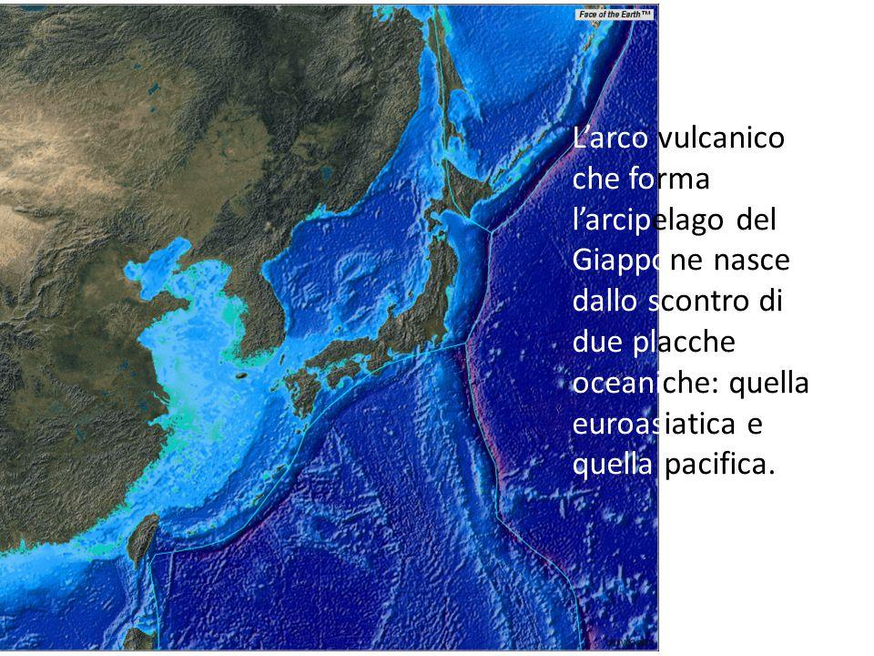 L'arco magmatico o arco vulcanico, è costituito da fasce vulcaniche parallele alle fosse. L'arco vulcanico che forma l'arcipelago del Giappone nasce d