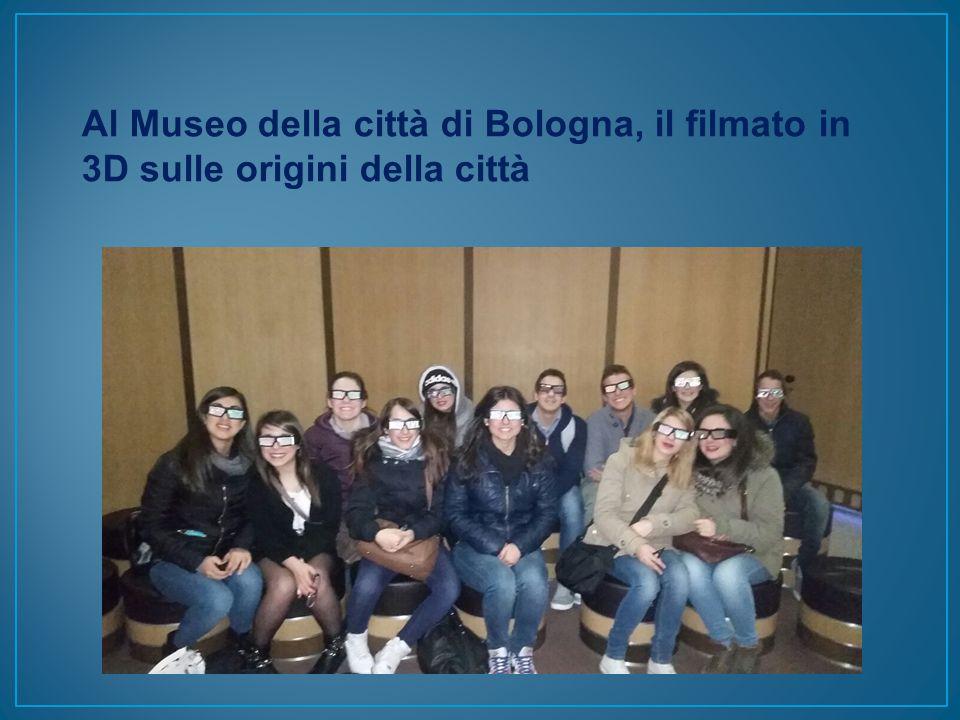 Al Museo della città di Bologna, il filmato in 3D sulle origini della città