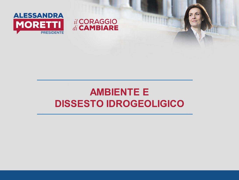 AMBIENTE E DISSESTO IDROGEOLIGICO