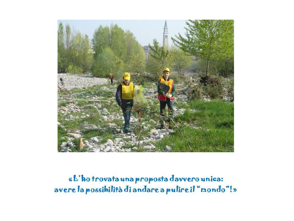 «Con questa esperienza ho capito che se butto qualcosa per terra sporco l'ambiente, ma sporco anche le persone del mondo.