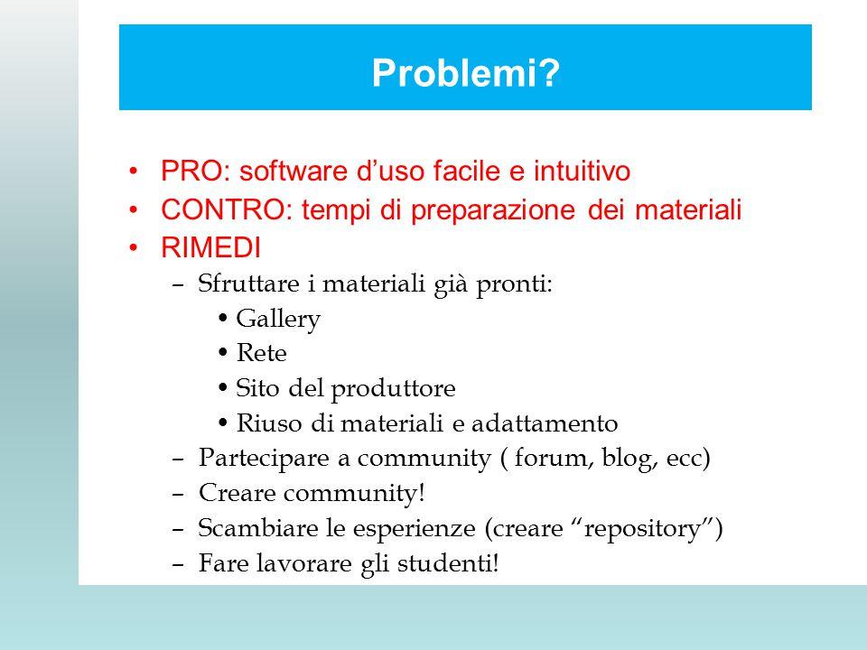 Problemi.