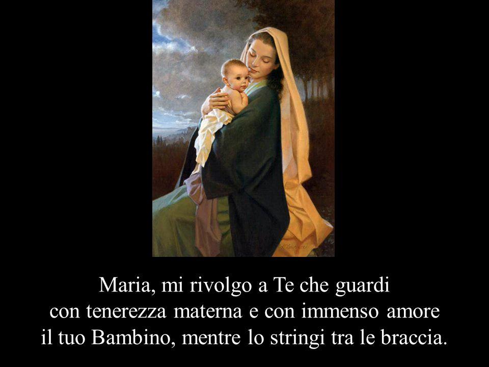 PREGHIERA DELLA MAMMA PER IL SUO BAMBINO