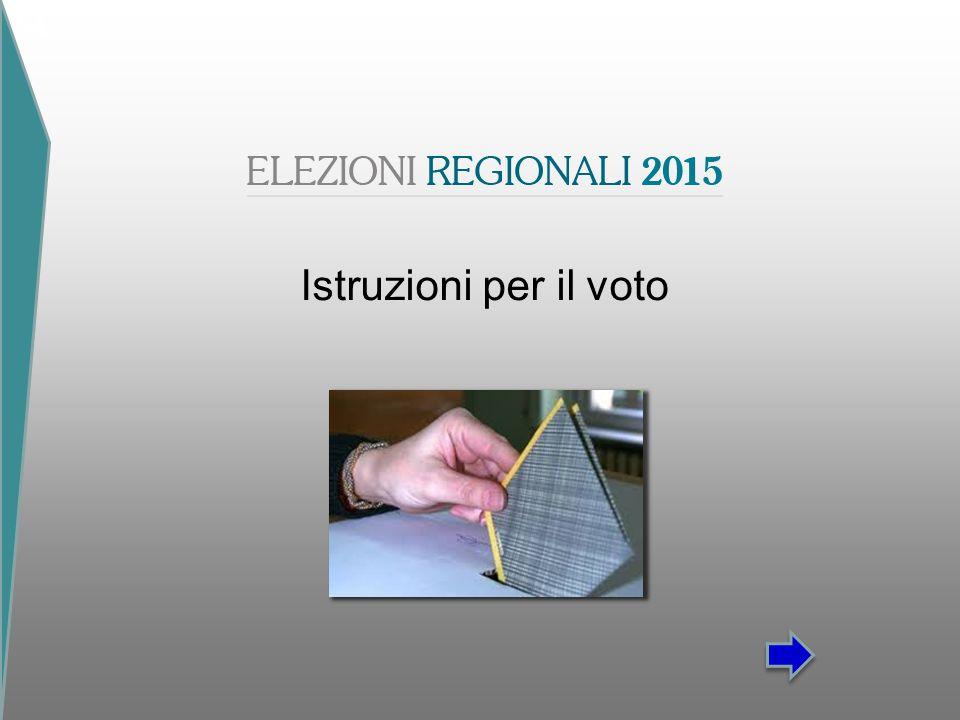 Istruzioni per il voto