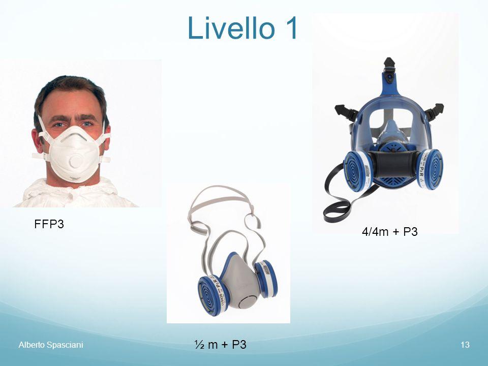 Alberto Spasciani13 Livello 1 FFP3 ½ m + P3 4/4m + P3