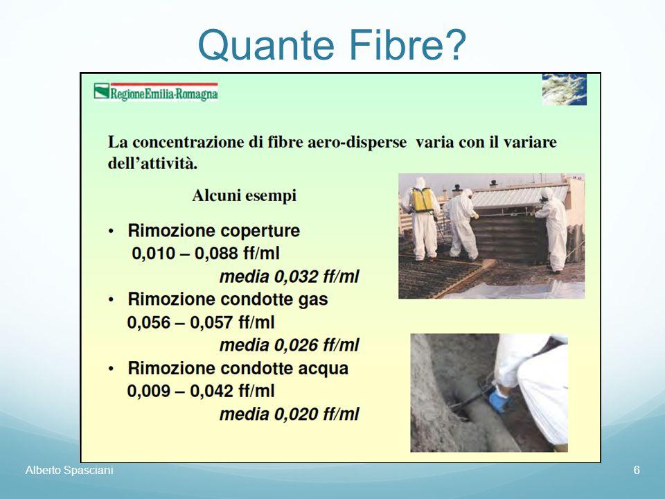 Quante Fibre? Alberto Spasciani7 Origine: INRS