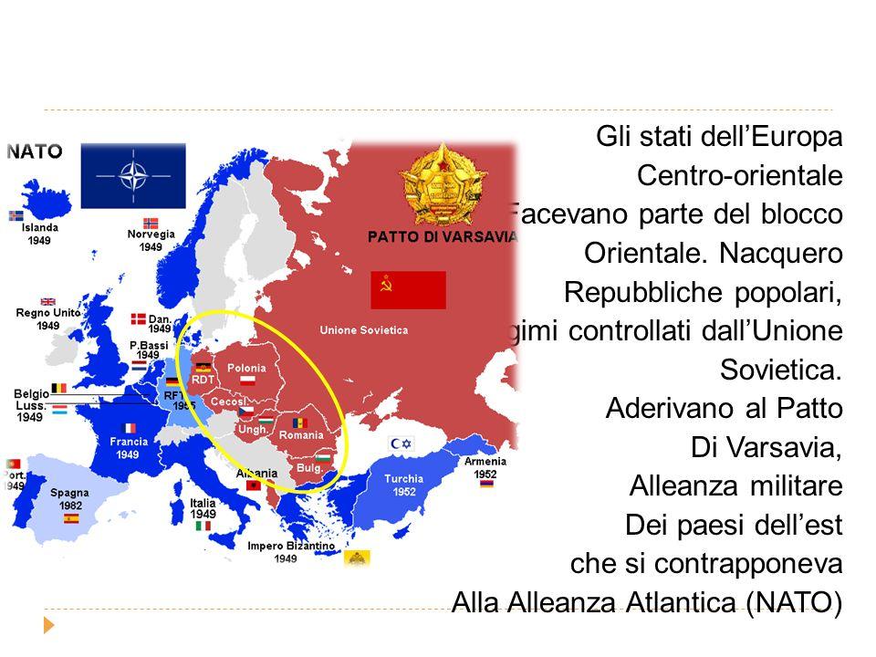 La svolta del 1989 Solo nel 1989, in seguito ad un'ondata rivoluzionaria, Caddero tutti i governi controllati dall'Unione Sovietica e gli stati dell'Europa dell'Est acquistarono la libertà.