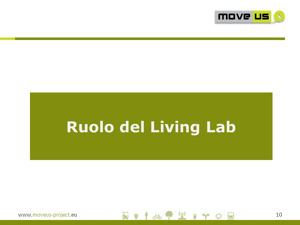 www.moveus-project.eu10 Ruolo del Living Lab