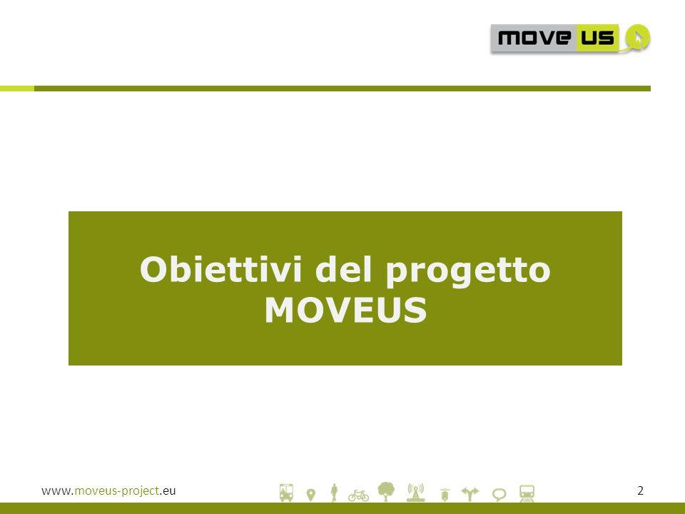 www.moveus-project.eu2 Obiettivi del progetto MOVEUS