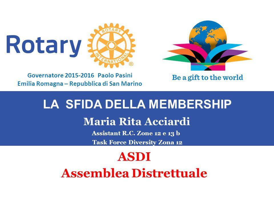 SEMINARIO ISTRUZIONE SQUADRA DISTRETTUALE Repubblica di San Marino, 22 Febbraio 2014 Maria Rita Acciardi Assistant R.C.